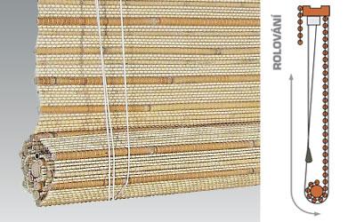 ABOWIND - Bambusové roletky - Asha