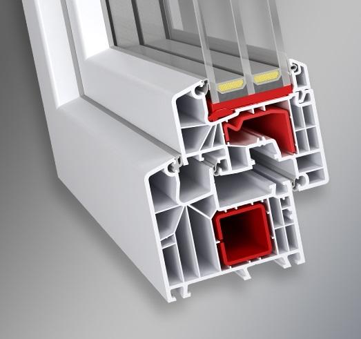 ABOWIND - Thermo Luksus Elegant - PVC Okno